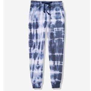 VS PINK Vintage Tie Dye skinny jogger sweatpants